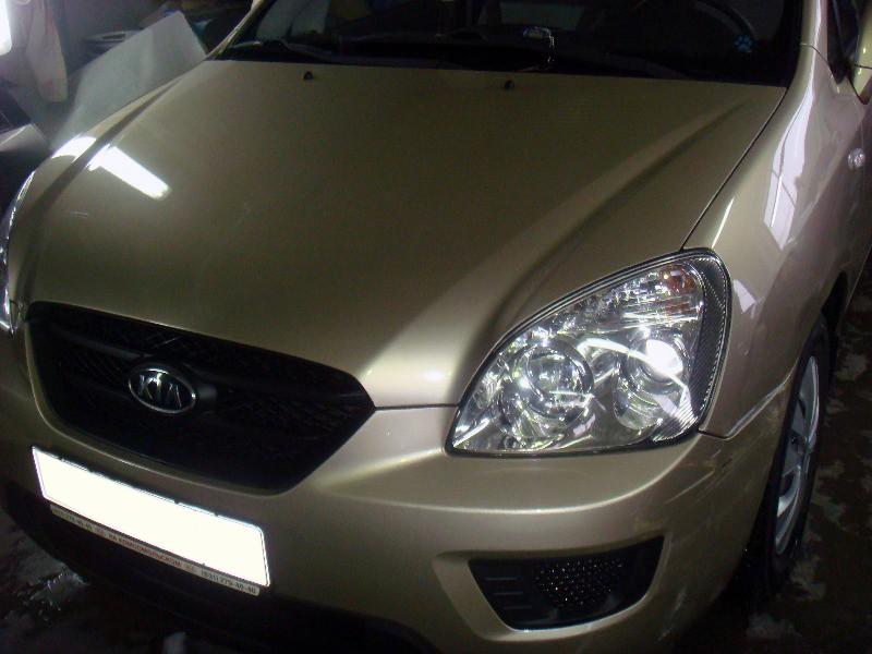 Кузовной ремонт автомобиля KIA